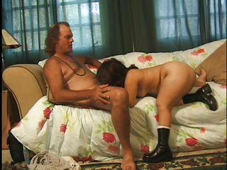 Порно старые двойное проникновение