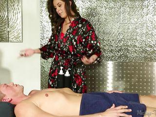 Домашний массаж спины видео