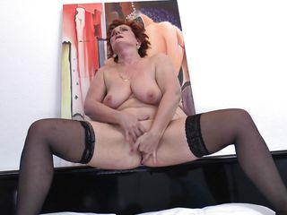 Видео секс зрелых немок