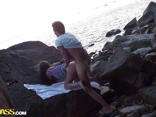 Русский любительский секс на улице