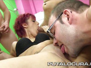 Порно молоденькие двойное проникновение видео