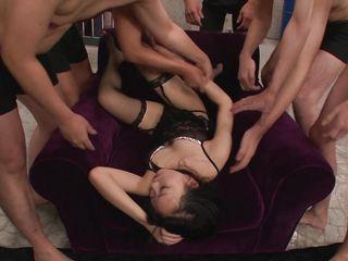 Азиатки групповуха порно смотреть