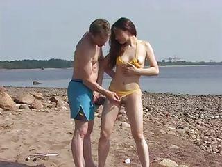 видео про секс на пляже