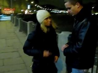 Секс с пьяной шлюхой