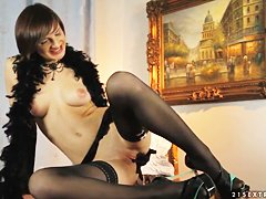 Порно жирных молодых трансов онлайн