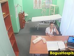 Порно медсестра медосмотр