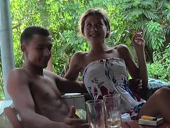 Порно видео няня семейные пары