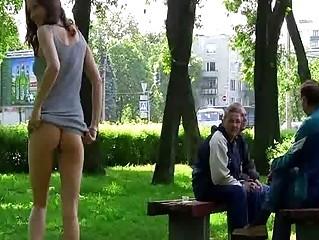 Порно кастинг за деньги на улице